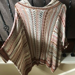 WORN ONCE!! Forever 21 Sweater/poncho!